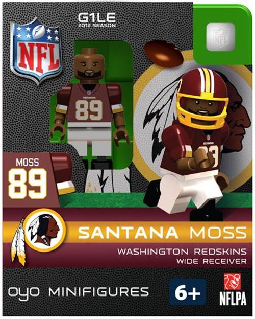 Washington Redskins NFL Generation 1 2012 Season Santana Moss Minifigure