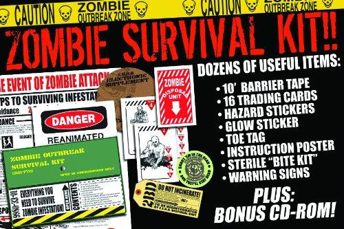 Zombies Zombie Outbreak Survival Kit