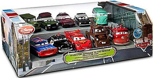 Disney Cars 1:48 Multi-Packs Radiator Springs to the Rescue Exclusive Diecast Car Set