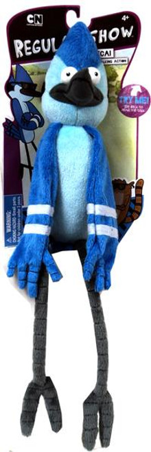 Cartoon Network Regular Show Deluxe Pullstring Mordecai 9-Inch Plush