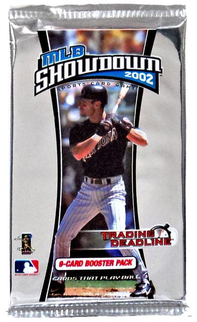 2002 MLB Showdown Trading Deadline Booster Pack