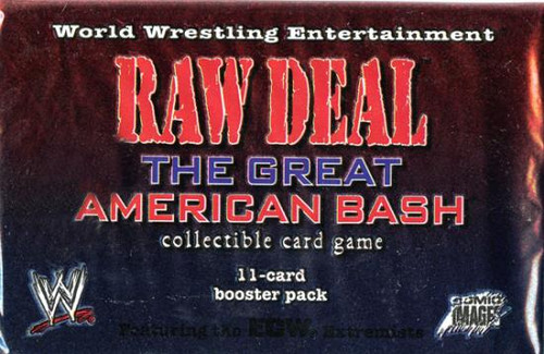 WWE Wrestling Raw Deal Trading Card Game The Great American Bash Booster Pack