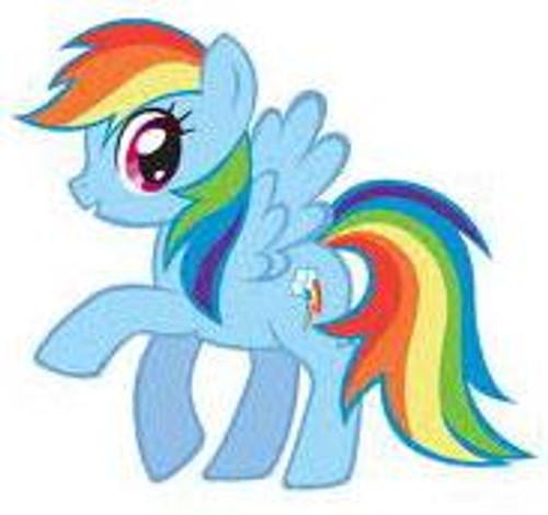My Little Pony Friendship is Magic 5 Inch Rainbow Dash Plush
