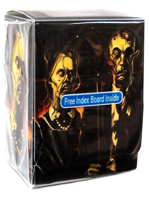 Card Supplies Deck Armor Zombie Gothic Deck Box