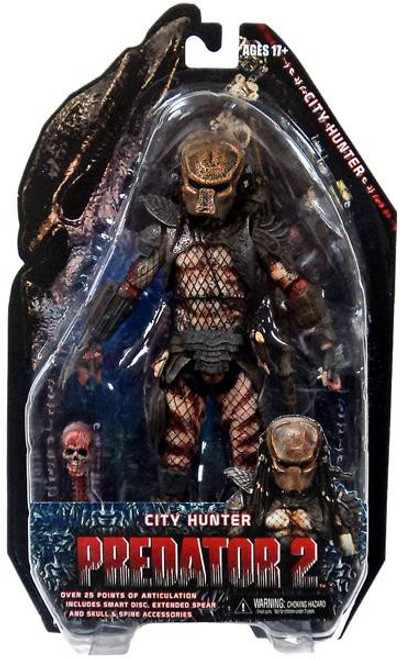 NECA Predator 2 Series 7 City Hunter Action Figure [Masked]
