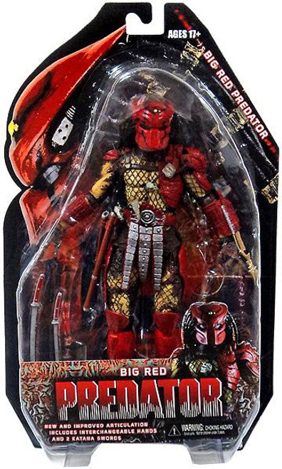 NECA Series 7 Big Red Predator Action Figure