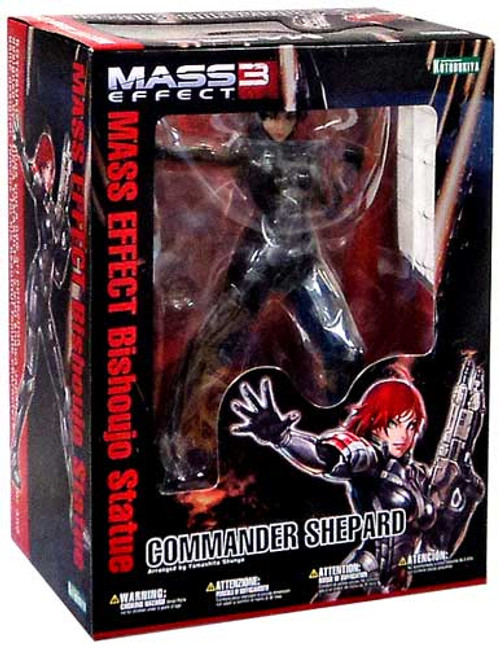 Mass Effect 3 Bishoujo Commander Shepard 1/7 Statue [Red Hair]