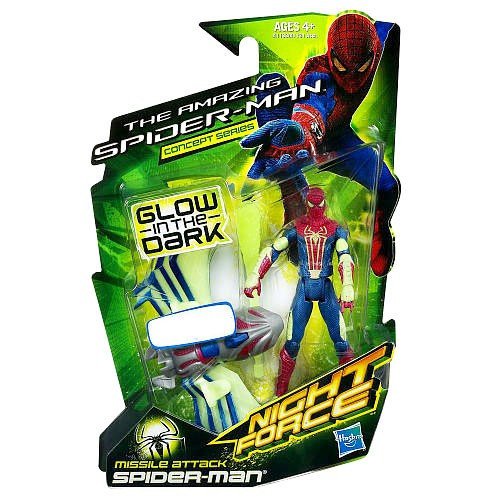 The Amazing Spider-Man Night Force Concept Series Missle Attack Spider-Man Exclusive Action figure