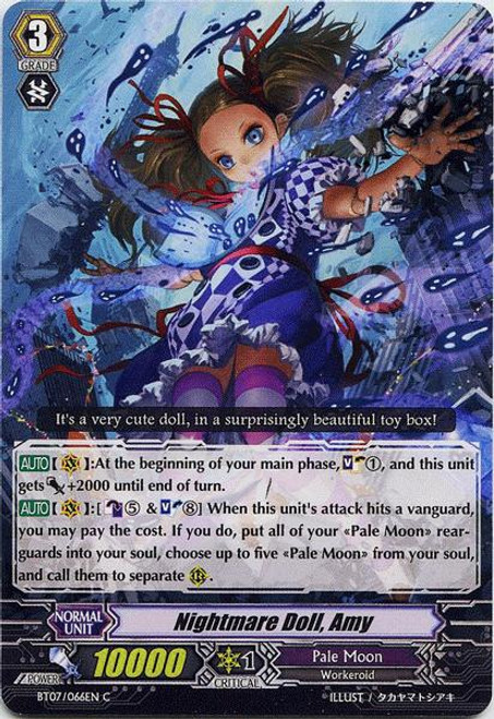 Cardfight Vanguard Rampage of the Beast King Common Nightmare Doll, Amy BT07-066