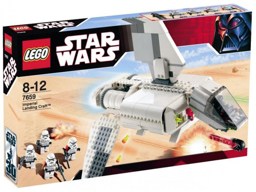 LEGO Star Wars A New Hope Imperial Landing Craft Set #7659