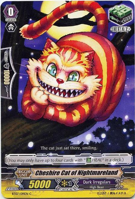 Cardfight Vanguard Rampage of the Beast King Common Cheshire Cat of Nightmareland BT07-091