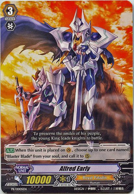 Cardfight Vanguard Rampage of the Beast King Promo Alfred Early PR-0005