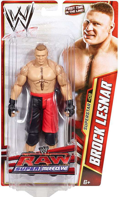 WWE Wrestling Series 25 Brock Lesnar Action Figure #8