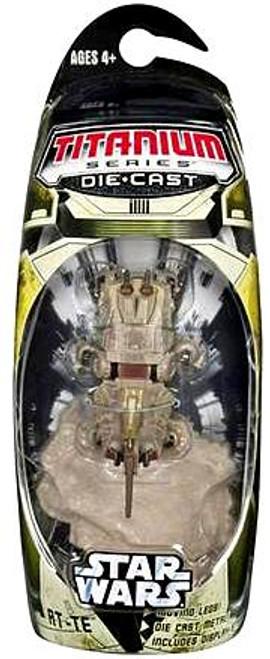 Star Wars The Clone Wars Titanium Series 2007 AT-TE Diecast Vehicle