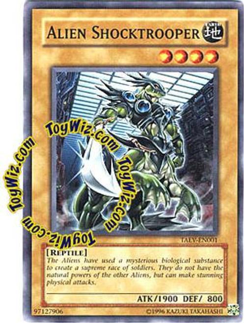YuGiOh GX Tactical Evolution Common Alien Shocktrooper TAEV-EN001