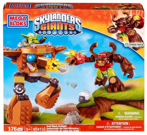 Mega Bloks Skylanders Giants Troll Mech Ambush Set #95413