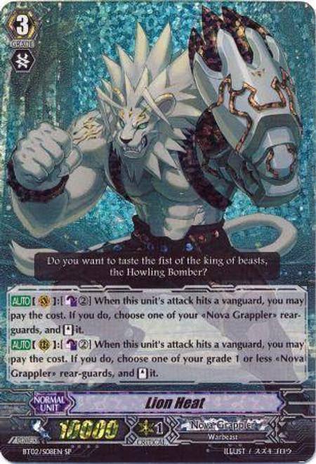 Cardfight Vanguard Onslaught of Dragon Souls SP Lion Heat BT02-S08EN