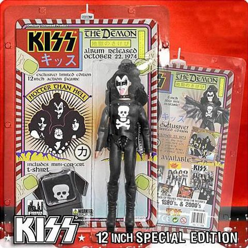 KISS Series 2 The Demon 12 Inch Action Figure [Hotter Than Hell]