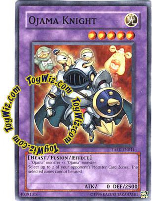 YuGiOh GX Tactical Evolution Common Ojama Knight TAEV-EN044