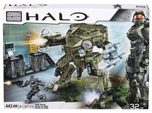 Mega Bloks Halo UNSC Mantis Set #97115