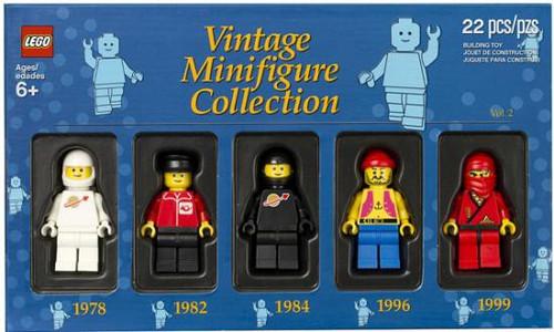 LEGO Exclusives Vintage Minifigure Collection Exclusive Set #5000438 [Volume 2]