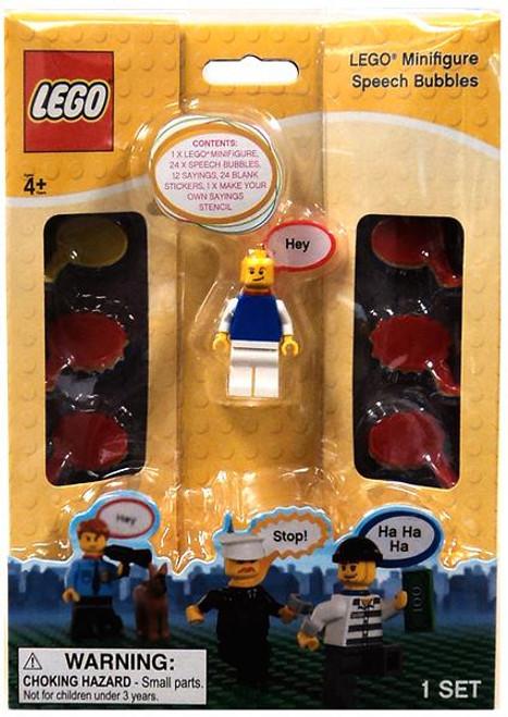 LEGO Speech Bubbles Minifigure Accessory KP008 [Blue Shirt]