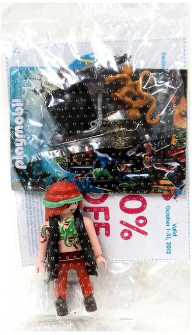 Playmobil Promotional Pirate Minifigure