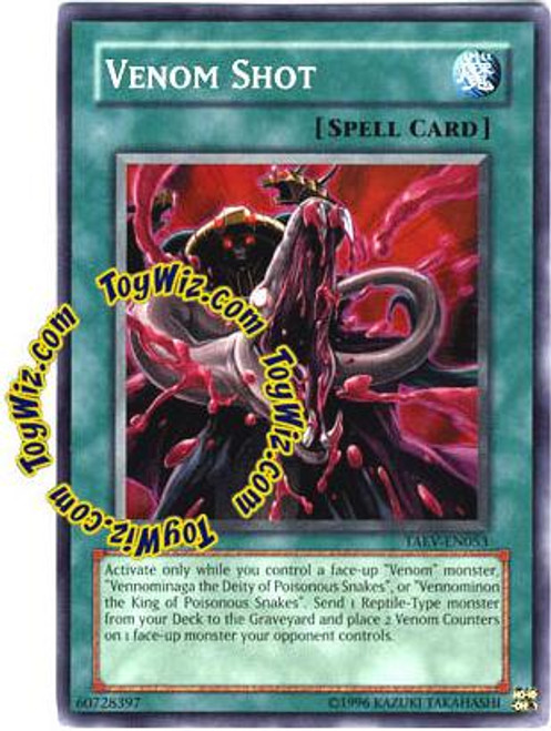YuGiOh GX Tactical Evolution Common Venom Shot TAEV-EN053