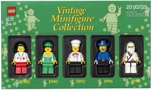 LEGO Exclusives Vintage Minifigure Collection Exclusive Set #5000439 [Volume 3]