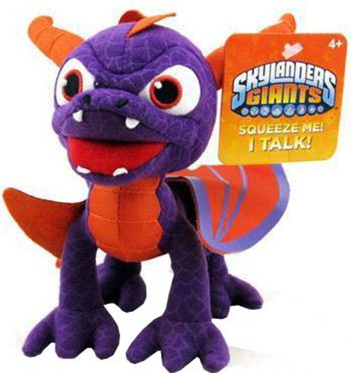 Skylanders Giants Talking Toss 'Ems Spyro 7-Inch Plush