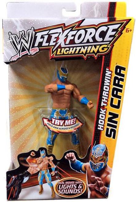 WWE Wrestling FlexForce Lightning Hook Throwin' Sin Cara Action Figure
