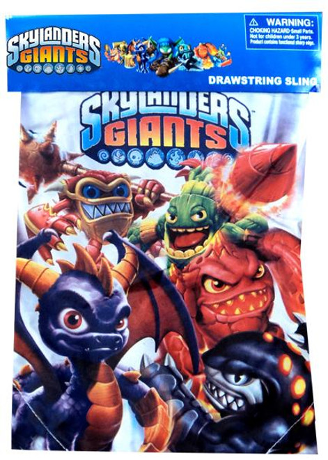 Skylanders Giants Drawstring Sling Bag
