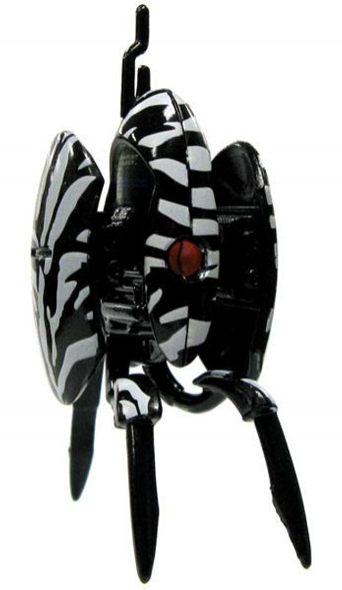 NECA Portal 2 Sentry Turret Mini Figures Series 1 Zebra Camo Sentry Turret 3-Inch Mini Figure [Opened Loose]