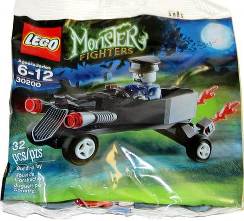 LEGO Monster Fighters Coffin Car with Zombie Chauffeur Mini Set #30200 [Bagged]