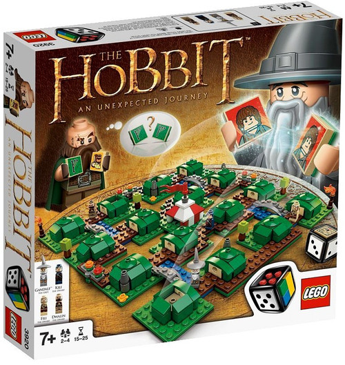 LEGO The Hobbit An Unexpected Journey Board Game #3920