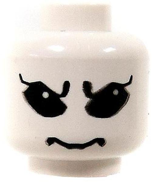 LEGO Minifigure Parts White Alien with Big Black Eyes Minifigure Head [Loose]