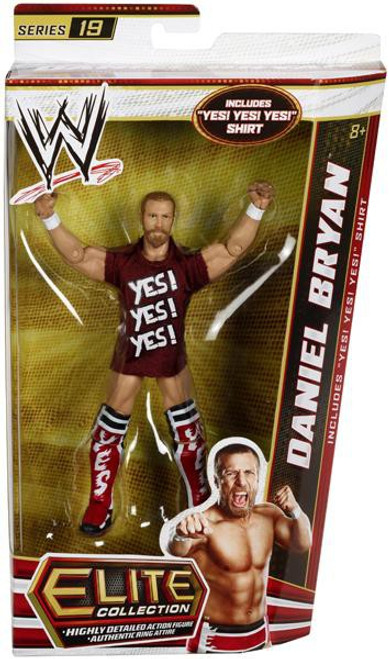 WWE Wrestling Elite Series 19 Daniel Bryan Action Figure [Yes! Yes! Yes! shirt]