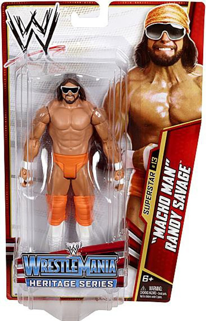 WWE Wrestling Series 26 Macho Man Randy Savage Action Figure #13