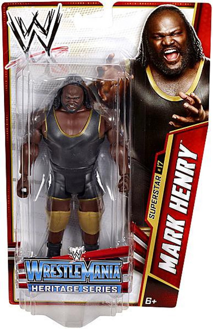 WWE Wrestling Series 26 Mark Henry Action Figure #17