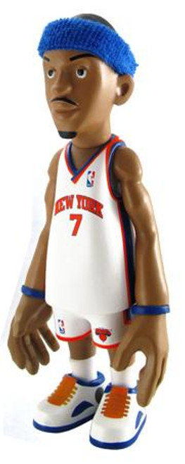 NBA New York Knicks Series 1 Carmelo Anthony Action Figure [White Uniform]
