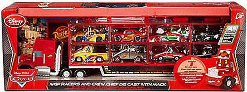 Disney Cars Playsets WGP Racers and Crew Exclusive Diecast Car Playset