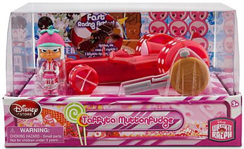 Disney Wreck-It Ralph Sugar Rush Racer Taffyta Muttonfudge Exclusive Figure Set