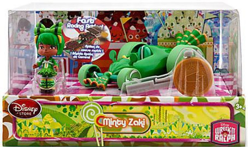 Disney Wreck-It Ralph Sugar Rush Racer Minty Zaki Exclusive Figure Set