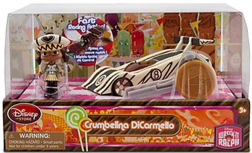 Disney Wreck-It Ralph Sugar Rush Racer Crumbelina DiCarmello Exclusive Figure Set