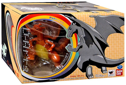Pokemon D-Arts Charizard Action Figure
