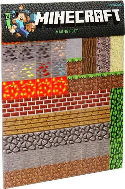 Minecraft Magnet Set