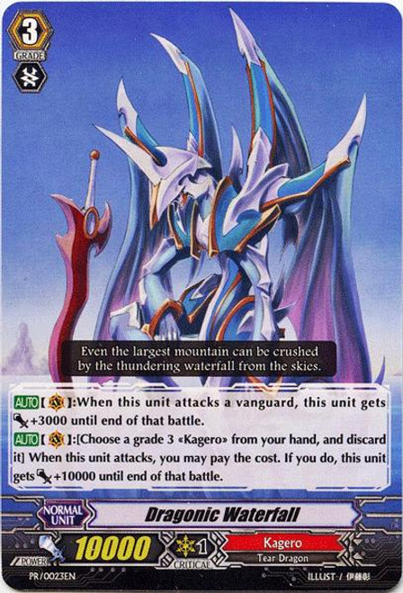 Cardfight Vanguard Banquet of Divas Promo Dragonic Waterfall PR-023