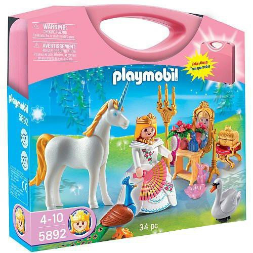 Playmobil Magic Castle Princess Carry Case Set #5892