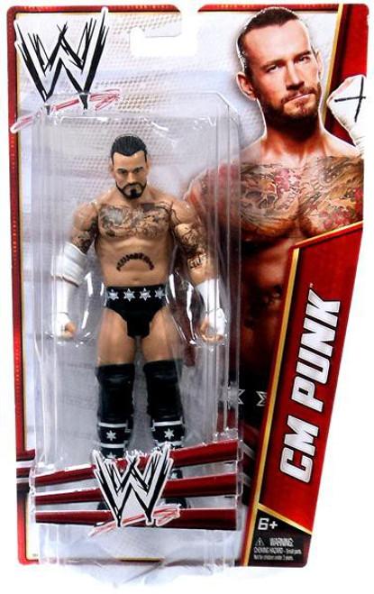 WWE Wrestling Signature Series 2012 CM Punk Action Figure