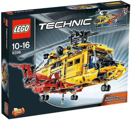 LEGO Technic Power Functions Helicopter Set #9396